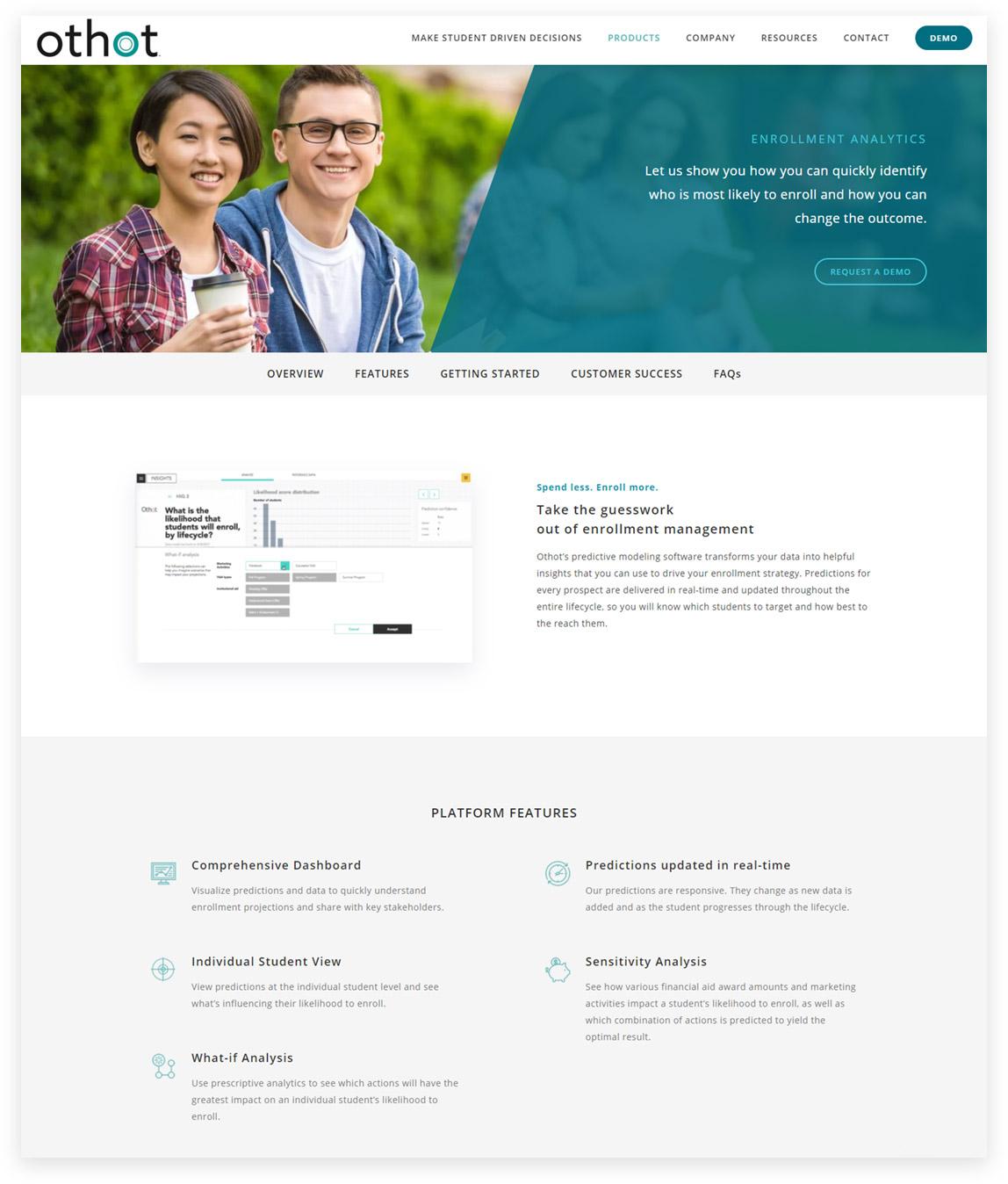 Predictive Analytics Web Design