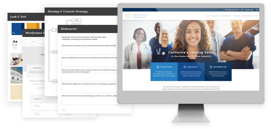 strategic web design and development