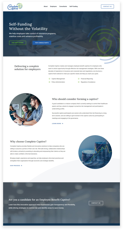 Captive Insurance Website